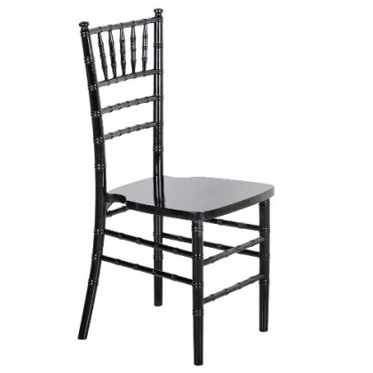 Chair Chiavari Black wooden