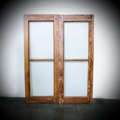 Rustic Wood windows