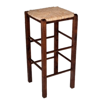 Stool Wooden Brown