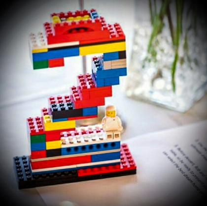 Table Number - Lego