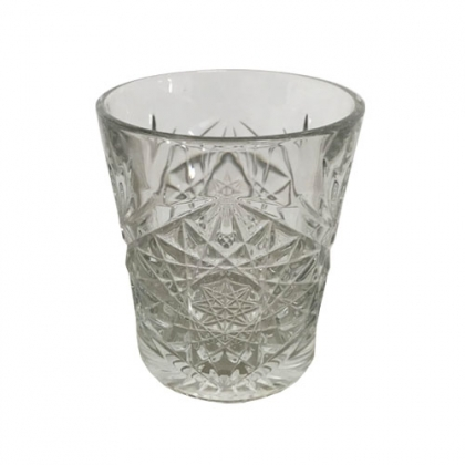 Old Fashioned Crystal Glass