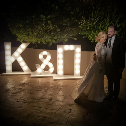 Personalised Lighted Letters