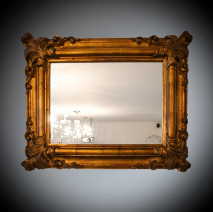 Mirror Frame - Classic Barocco antique gold 58cm x 50cm