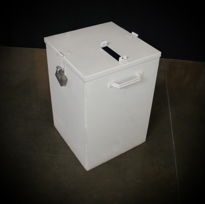 Wedding envelope box white