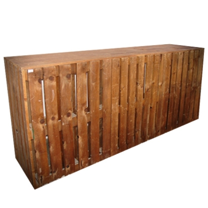 Bar Pallet (brown) Rustic