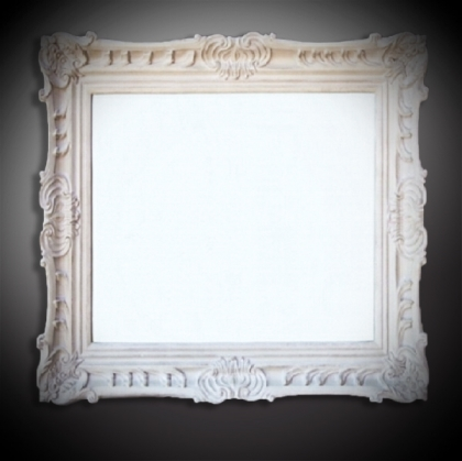 Guest Name board Mirror Frame - Antique beige