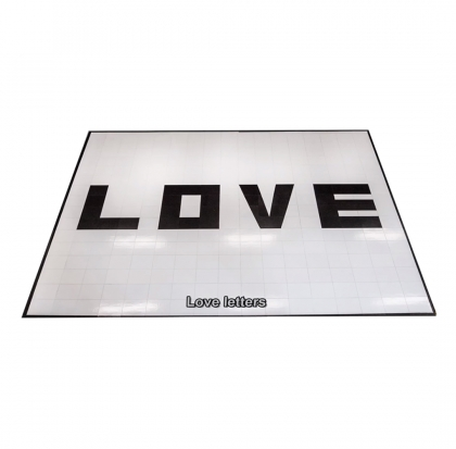 Dance Floor with Love Letters