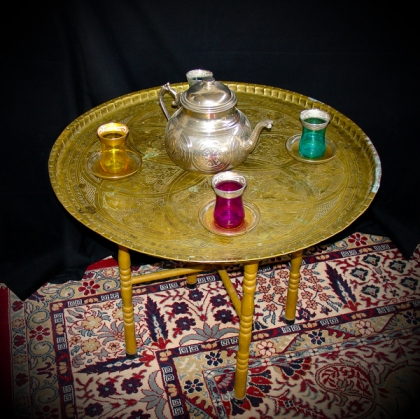 Ethnic Tea Table