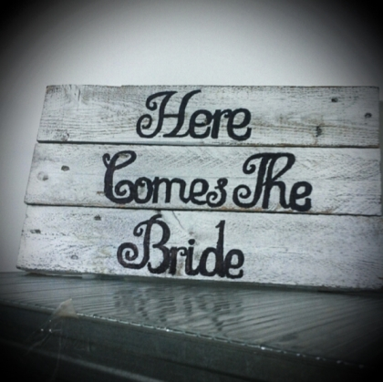 Personalised Rustic Sign